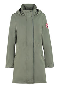 Belcarra technical fabric hooded jacket, Raincoats And Windbreaker Canada Goose woman