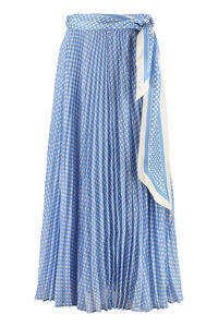 Sunray printed pleated skirt, Pleated skirts Zimmermann woman