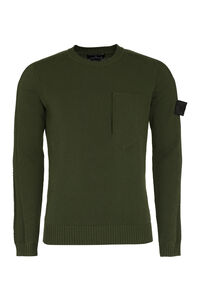 Shadow Project - Cotton crew-neck sweater, Crew necks sweaters Stone Island man