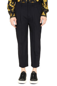 Wool blend tapered-fit trousers, Formal trousers Neil Barrett man