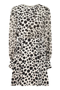 Printed crepe dress, Mini dresses MSGM woman