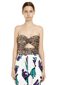 Sequined top, Crop tops The Attico woman