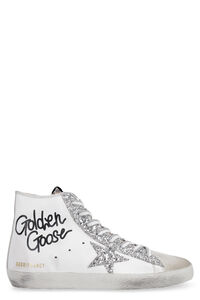 Francy leather high-top sneakers, High Top sneakers Golden Goose woman