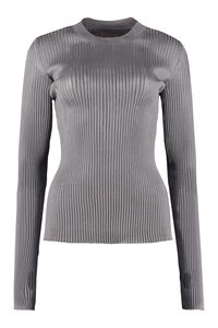 Ribbed knit top, Crew neck sweaters Maison Margiela woman