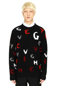 Intarsia wool sweater, Crew necks sweaters Givenchy man
