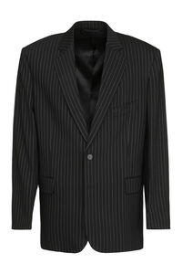 Wool pinstripe blazer, Single breasted blazers Balenciaga man