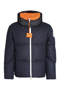 Stonor full zip padded jacket, Down jackets 1 Moncler JW Anderson man