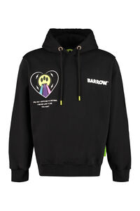 Cotton hoodie, Sweatshirt Barrow woman