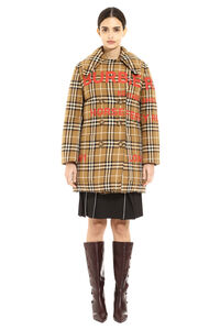 Padded double-breast peacoat, Double Breasted Burberry woman