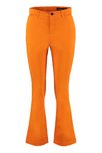 Sax flared ankle-length trousers, Flared pants Department 5 woman
