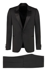 Wool and mohair two piece suit, Suits Lanvin man