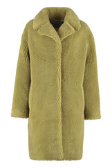 Camille Cocoon vegan fur coat, Faux Fur and Shearling Stand Studio woman