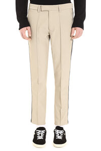 Contrast side stripes trousers, Casual trousers GCDS man