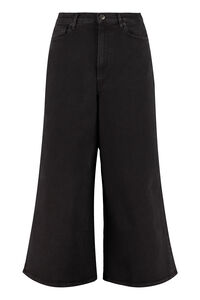 Frida cropped-leg jeans, Wide Leg Jeans 3x1 woman