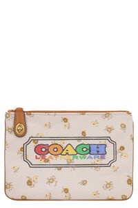 Printed flat pouch, Pouches Coach woman