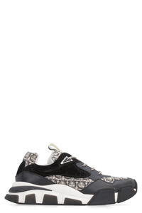 Leather low-top sneakers, Low Top Sneakers Salvatore Ferragamo man