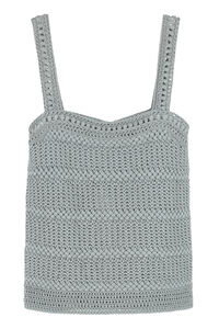 Knitted cotton top, Tanks and Camis Vince woman