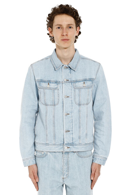 Padded denim jacket, Denim jackets A.P.C. man
