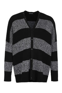Buttoned cotton cardigan, Cardigans Balenciaga man