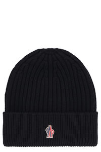 Ribbed knit beanie, Hats Moncler Grenoble man