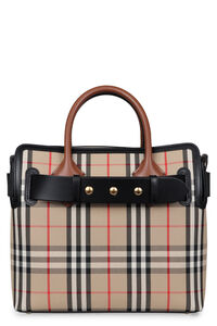 Small Belt Bag checked canvas handbag, Tote bags Burberry woman
