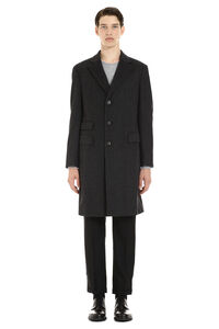Single-breasted wool coat, Overcoats Z Zegna man