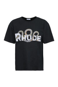 Oversize printed t-shirt, Short sleeve t-shirts Rhude man