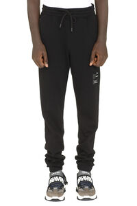 Stretch cotton track-pants, Track Pants Marcelo Burlon County of Milan man