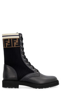Rockoko combat boots, Ankle Boots Fendi woman