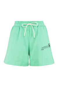 Stretch cotton shorts, Shorts MSGM woman