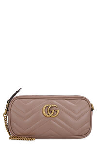 Mini-bag GG Marmont in pelle trapuntata, Clutch Gucci woman
