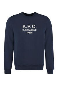Rufus cotton crew-neck sweatshirt, Sweatshirts A.P.C. man