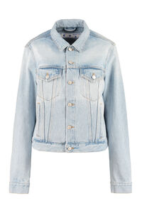 Printed denim jacket, Denim Jackets Off-White woman