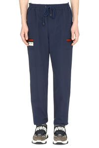 Techno nylon track pants, Track Pants Gucci man
