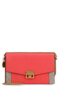 GV3 leather wallet on chain, Shoulderbag Givenchy woman