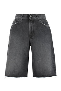 Halley denim bermuda shorts, Denim Shorts Amish woman