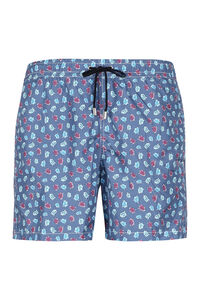 Printed swim shorts, Swimwear Drumohr man