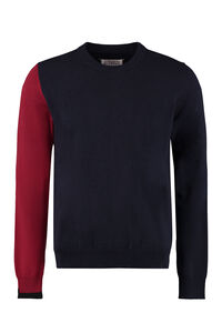 Long sleeve crew-neck sweater, Crew necks sweaters Maison Margiela man
