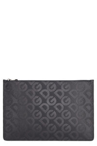 Leather flat pouch, Poches Dolce & Gabbana man