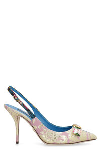 Fabric slingback pumps, High Heels Dolce & Gabbana woman