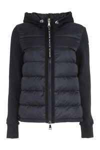 Padded panel hoodie, Casual Jackets Moncler woman