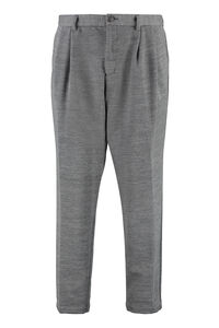 BOSS x Russell Athletic - Wool blend tailored trousers, Formal trousers BOSS man