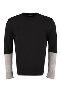 Long sleeve crew-neck sweater, Crew necks sweaters Neil Barrett man