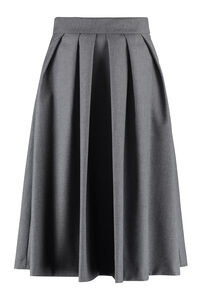 Flared wool skirt, Knee Length skirts L'Autre Chose woman