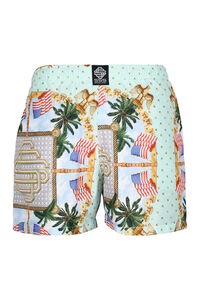 Printed swim shorts, Swimwear SSS World Corp. man