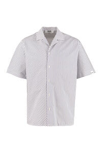Striped cotton shirt, Short sleeve Shirts MSGM man