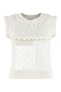 Falala knitted sleeveless top, Crew neck sweaters Cecilie Bahnsen woman