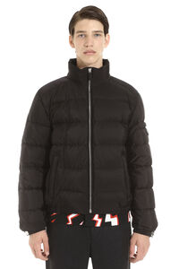 Nylon down jacket, Down jackets Prada man