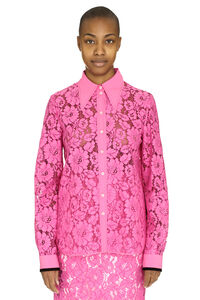 Broderie-anglaise cotton shirt, Shirts N°21 woman