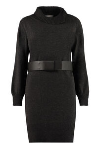 Belted knit dress, Mini dresses Fabiana Filippi woman